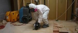 Water Damage Monument Floor Repair