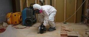 Water Damage Monument Floor Repair
