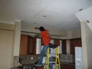 Water Damage Falcon Ceiling Repair
