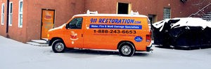 Mold and Water Damage Repair Vehicles